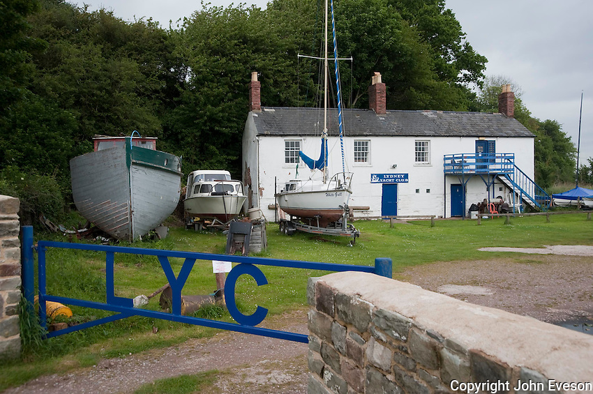 Lydney Yacht Club building, Gloucestershire.