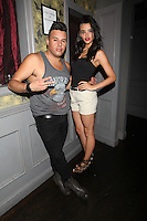 Johnny Donovan and Samara Martins attend Inked Magazine release party celebrating August issue, New York. July 17, 2012 &copy; Diego Corredor/MediaPunch Inc. /NortePhoto.com<br />