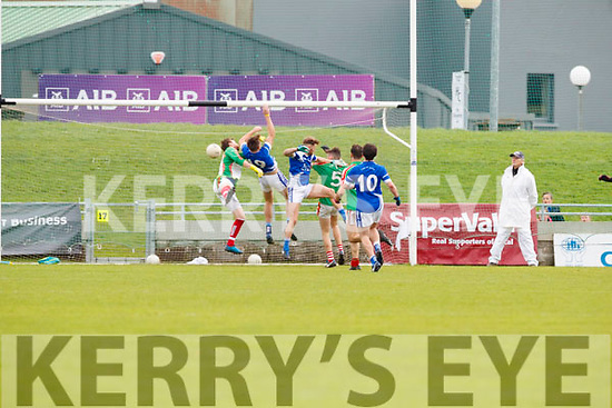 Kerins O'Rahillys scores a goal against  Kilcummin Senior Football Championship Relegation Playoff in Austin Stack Park on Sunday