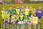 The Renard team who took part in the football blitz in Valentia on Thursday evening last were front l-r; Michael Keating, Niamh McCrohan, Aodhan O'Neill, Sean Teahan, Fiona O'Shea, Brian O'Sullivan, Lil Kelly, back l-r; Breece O'Sullivan, Ciaran O'Connell, Jack Sugrue, Jack Kelly, Robert Wharton, Cathal O'Shea, Brendan Kelly, Thomas Kelly & Vikki McCarthy.