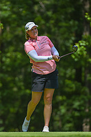Brittany Lincicome (USA) watches her tee shot on 2 during round 4 of the U.S. Women's Open Championship, Shoal Creek Country Club, at Birmingham, Alabama, USA. 6/3/2018.<br /> Picture: Golffile | Ken Murray<br /> <br /> All photo usage must carry mandatory copyright credit (&copy; Golffile | Ken Murray)