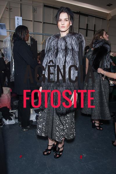 Londres, Inglaterra &ndash; 02/2014 - Desfile de Michael Kors durante a Semana de moda de Londres - Inverno 2014.&nbsp;<br /> Foto: FOTOSITE