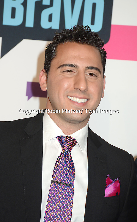"""Million Dollar Listing LA""  Cast Josh Altman  arrives at the Bravo 2013  Upfront on April 3, 2013 at Pillars 37 Studio in New York City."