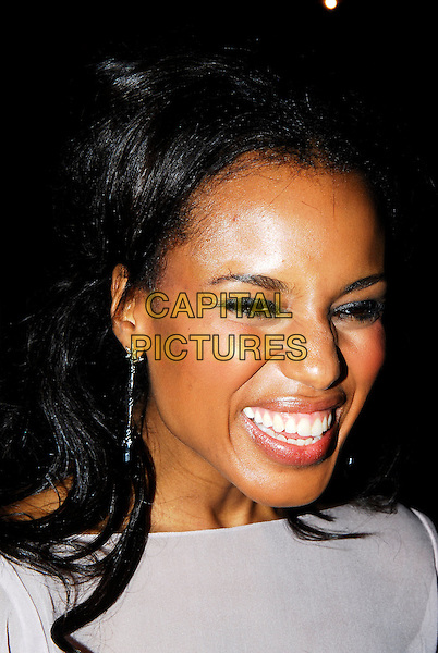"""KERRY WASHINGTON.The Times BFI London Film Festival opening night with the screening of """"The Last King Of Scotland"""" at the Odeon Leicester Square, London, UK. .October 18th, 2006.Ref: IA.headshot portrait smiling.www.capitalpictures.com.sales@capitalpictures.com.©Ian Allis/Capital Pictures"""