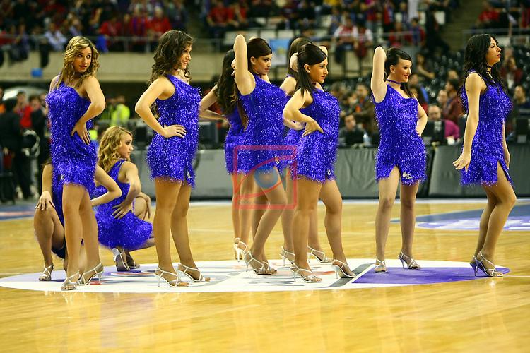 Dream Cheers - Caja Laboral vs Lagun Aro GBC: 72-65 - Copa del Rey 2012 - Cuartos de Final.