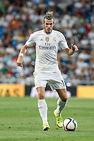 Real Madrid´s Gareth Bale during Santiago Bernabeu Trophy match at Santiago Bernabeu stadium in Madrid, Spain. August 18, 2015. (ALTERPHOTOS/Victor Blanco)