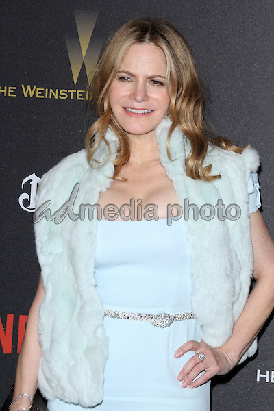 10 January 2016 - Los Angeles, California - Jennifer Jason Leigh. 2016 Weinstein Company & Netflix Golden Gloves After Party held at the Beverly Hilton Hotel. Photo Credit: AdMedia