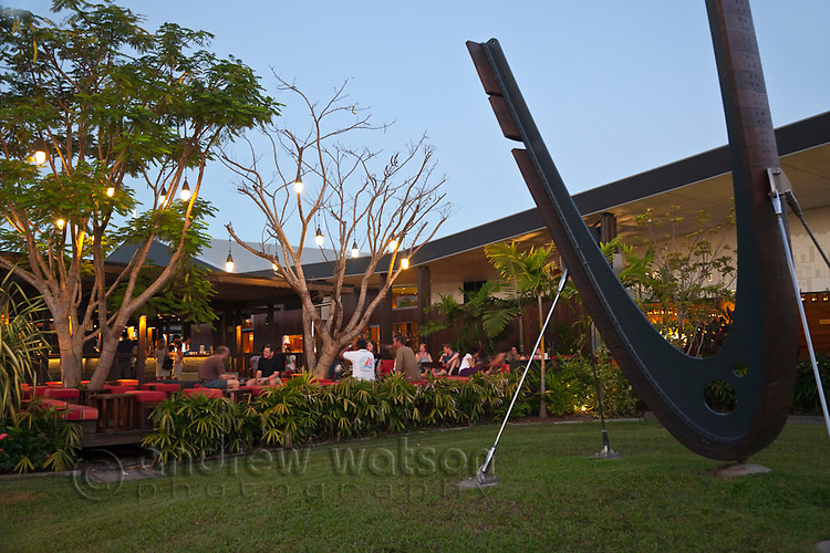 Salt House Restaurant and Bar at Marina Point.  Cairns, Queensland, Australia