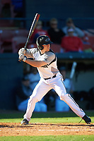 Wisconsin-Milwaukee Panthers center fielder Luke Meeteer (11) at bat during a game against the Bethune-Cookman Wildcats on February 26, 2016 at Chain of Lakes Stadium in Winter Haven, Florida.  Wisconsin-Milwaukee defeated Bethune-Cookman 11-0.  (Mike Janes/Four Seam Images)
