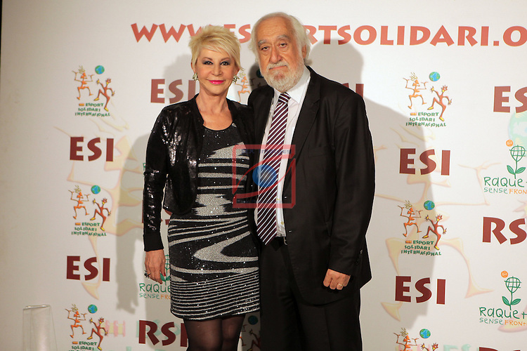 XIe Sopar Solidari d'ESI (Esport Solidari Internacional).<br /> Josep Maldonado &amp; Karmele Marchante.