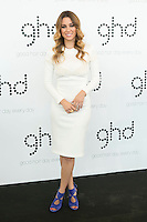 Spanish actress Blanca Suarez is presented as ghd ambassador in Spain in Madrid, Spain. Oct. 23, 2014. (ALTERPHOTOS/Carlos Dafonte)