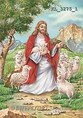Interlitho, EASTER RELIGIOUS, paintings, Jesus, sheep(KL3275/1,#ER#)