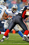28 August 2008:  Detroit Lions' running back Brian Calhoun in action against the Buffalo Bills at Ralph Wilson Stadium in Orchard Park, NY. The Lions defeated the Bills 14-6 in their fourth and final pre-season game...Mandatory Photo Credit: Ed Wolfstein Photo