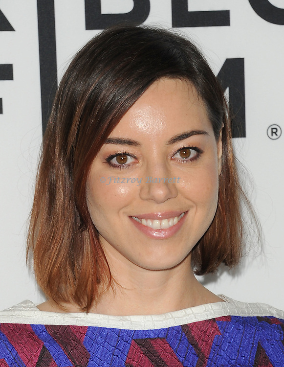 Aubrey Plaza arriving at the Los Angeles Premiere of Palo Alto, held at Directors Guild of America May 5, 2014.