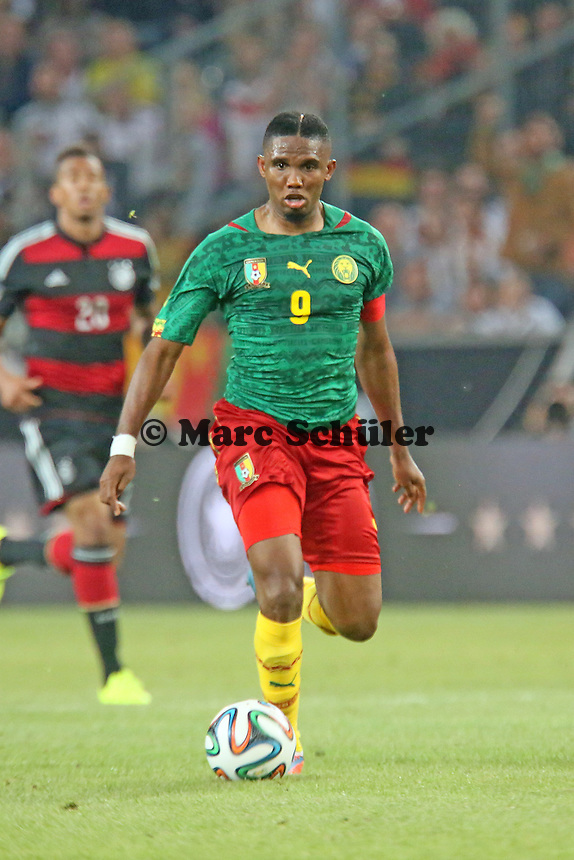 Samuel Eto'o (CAM) - Deutschland vs. Kamerun, Mönchengladbach