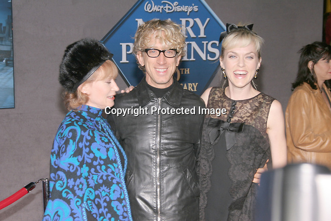 Ann Magnuson , Andy Dick &amp; Elaine Hendrix<br />