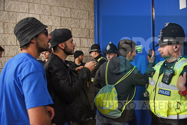 Leicester city fans trying to get a glimpse of the Barclays Premier League match at the King Power Stadium Leicester. Photo credit should read: Nathan Stirk/Sportimage<br /> <br /> <br /> <br /> <br /> <br /> <br /> <br /> <br /> <br /> <br /> <br /> <br /> <br /> <br /> <br /> <br /> <br /> <br /> <br /> <br /> <br /> <br /> <br /> <br /> <br /> <br /> <br /> <br /> <br /> <br /> <br /> - Newcastle Utd vs Tottenham - St James' Park Stadium - Newcastle Upon Tyne - England - 19th April 2015 - Picture Phil Oldham/Sportimage