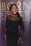 "Nita Whitaker backstage after a Song preview performance of the Bebe Winans Broadway Bound Musical ""Born For This"" at Feinstein's 54 Below on November 5, 2018 in New York City."