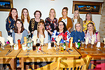 Class of 2012 from I T Tralee enjoying a class reunion in Bella Bia on Friday night.<br /> Seated l-r, Breda Horan, Clara Daly, Laura Dee, Helena Brennan and Orla McMahon.<br /> Back l-r, Celina O&rsquo;Grady, Dionne Casey, Helen Slattery, Sharon Griffin, Jane Costello, Mary O&rsquo;Keeffe and Caroline O&rsquo;Connor.