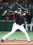 Yoshitomo Tsutsugo (JPN), <br /> MARCH 12, 2017 - WBC : 2017 World Baseball Classic Second Round Pool E Game between <br /> Japan 8-6 Netherlands <br /> at Tokyo Dome in Tokyo, Japan. <br /> (Photo by Sho Tamura/AFLO SPORT)
