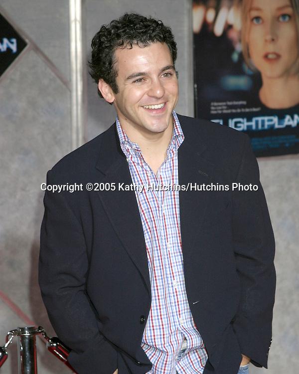 "Fred Savage .""Flightplan"" Premiere.El Capitan Theater.Los Angeles, CA.September 19, 2005.©2005 Kathy Hutchins / Hutchins Photo"