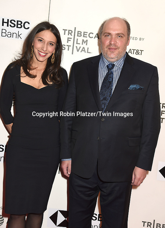 "actor Glen Fleshler and wife Jocelyn Greene attends ""The Seagull"" Screening at the Tribecca Film Festival at BMCC on April 21, 2018 in New York City, New York, USA.<br /> <br /> photo by Robin Platzer/Twin Images<br />  <br /> phone number 212-935-0770"