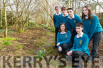 Mercy Mounthawk. TY students Leaf Environmental project for Young Environmental Awards. Pictured front Vilte Dubickaite and Brian Votta Back Jason Curran, Oisin Percival, Raul Venczel,  Megan McCarthy