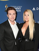 WEST HOLLYWOOD, CA - FEBRUARY 7: Daryl Sabara, Meghan Trainor, at the Delta Air Line 2019 GRAMMY Party at Mondrian LA in West Hollywood, California on February 7, 2019. <br /> CAP/MPIFS<br /> &copy;MPIFS/Capital Pictures