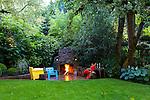 Garden in SW Portland, Oregon