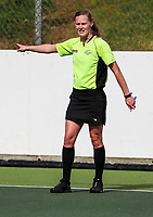 Umpire. Under 21 National Hockey Championships, North Harbour Hockey Stadium, Auckland, Tuesday 7 May 2019. Photo: Simon Watts/Hockey NZ
