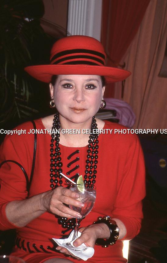 Cindy Adams 1992 by Jonathan Green