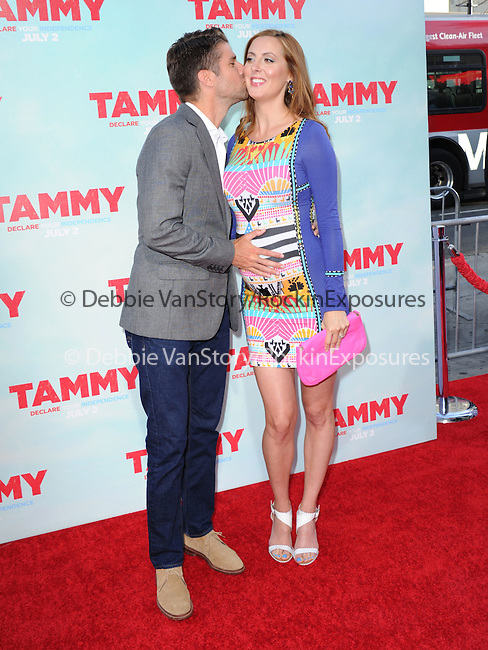Eva Amurri Martino and Kyle Martino at The Warner Bros. Pictures' L.A. Premiere of Tammy held at The TCL Chinese Theatre in Hollywood, California on June 30,2014                                                                               © 2014 Hollywood Press Agency
