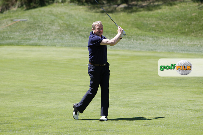 Richard Bevan (AM) during the Pro-Am in The Open De Espana at The PGA Catalunya Resort on Wednesday 14th May 2014.<br /> Picture:  Thos Caffrey / www.golffile.ie