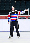 Solna 2014-03-15 Bandy SM-final Damer Kareby IS - AIK  :  <br /> domare H&aring;kan Sj&ouml;sten <br /> (Foto: Kenta J&ouml;nsson) Nyckelord:  SM SM-final final dam damer Kareby AIK portr&auml;tt portrait