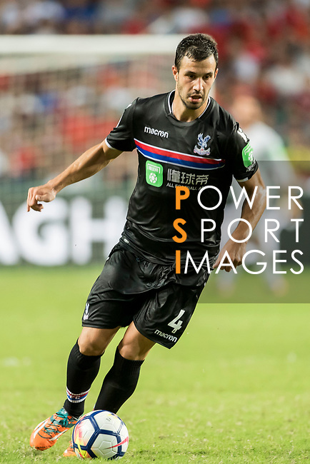 Crystal Palace midfielder Luka Milivojevic in action during the Premier League Asia Trophy match between West Bromwich Albion and Crystal Palace at Hong Kong Stadium on 22 July 2017, in Hong Kong, China. Photo by Weixiang Lim / Power Sport Images