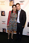 "Jen Stein and Mike Birbiglia attends the Off-Broadway Opening Night of ""Jacqueline Novak: Get On Your Knees"" at the Cherry Lane Theatre on July 22, 2019 in New York City."
