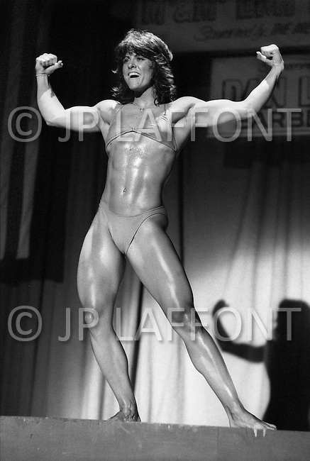 June 20th 1981, New York, USA<br /> Cammie Lusko, Ms.Empire State competition.