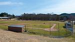 THOMASTON, CT-031820JS14- The baseball fields at Thomaston High School on Wednesday. <br />   Jim Shannon Republican-American