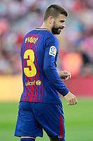 FC Barcelona's Gerard Pique during Joan Gamper Trophy. August 7,2017. (ALTERPHOTOS/Acero) /NortePhoto.com