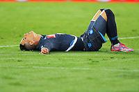 Jose Callejon   durante l'incontro  di calco d Seriden A  tra SSC Napoli e US Palermo    allo stadio San Paolo di Napoli , 24 Settembre  2014