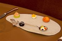 C- La Toque Restaurant Plated Dishes, Napa CA 5 15