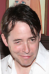 Matthew Broderick  .attending the unveiling of the Sardi's caricature for the Tony Award-winning star of 'Nice Work If You Can Get It', Michael McGrath on July 12, 2012 in New York City.