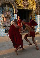 Dhammalinkara Monestery in Bago, Myanmar/Burma