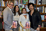 CORAL GABLES, FL - NOVEMBER 05: Boris Izaguirre, Karla Monroig, Adamari Lopez and Tommy Torres attend Adamari Lopez Book Signing 'Amando' at Books and Books on Thursday November 5, 2015 in Coral Gables, Florida. ( Photo by Johnny Louis / jlnphotography.com )