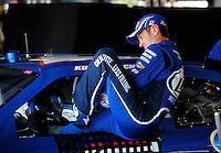 Apr 24, 2009; Talladega, AL, USA; NASCAR Sprint Cup Series driver Kurt Busch during practice for the Aarons 499 at Talladega Superspeedway. Mandatory Credit: Mark J. Rebilas-