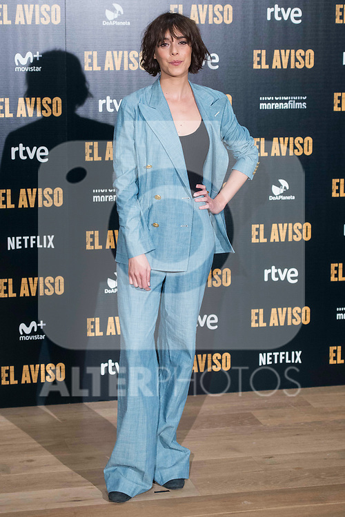 "Belen Cuesta attends to the presentation of the film ""El Aviso"" at URSO Hotel in Madrid , Spain. March 19, 2018. (ALTERPHOTOS/Borja B.Hojas)"