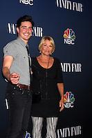 Ben Feldman, his mother<br /> NBC &amp; Vanity Fair's 2014-2015 TV Season Event, Hyde Sunset, West Hollywood, CA 09-16-14<br /> David Edwards/DailyCeleb.com 818-249-4998