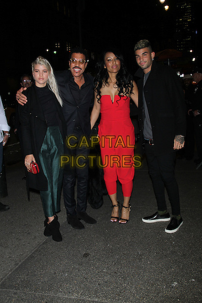 November 04, 2014: Lionel Richie at TopShop Topman New York City Flagship Opening Dinner at Grand Central Terminal in New York. <br /> CAP/MPI/RW<br /> &copy;RW/MPI/Capital Pictures
