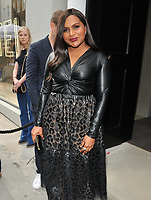 Mindy Kaling at the Stella McCartney new eco-friendly flagship store opening party, Stella McCartney, Old Bond Street, London, England, UK, on Tuesday 12 June 2018.<br /> CAP/CAN<br /> &copy;CAN/Capital Pictures