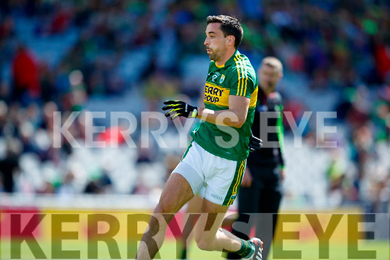 Anthony Maher Kerry in action against  Galway in the All Ireland Senior Football Quarter Final at Croke Park on Sunday.